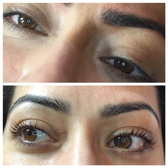 Lash lift low maintenance semi permanent mascara