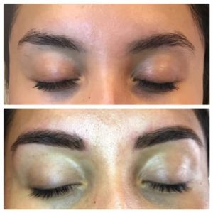 brow definition microblading