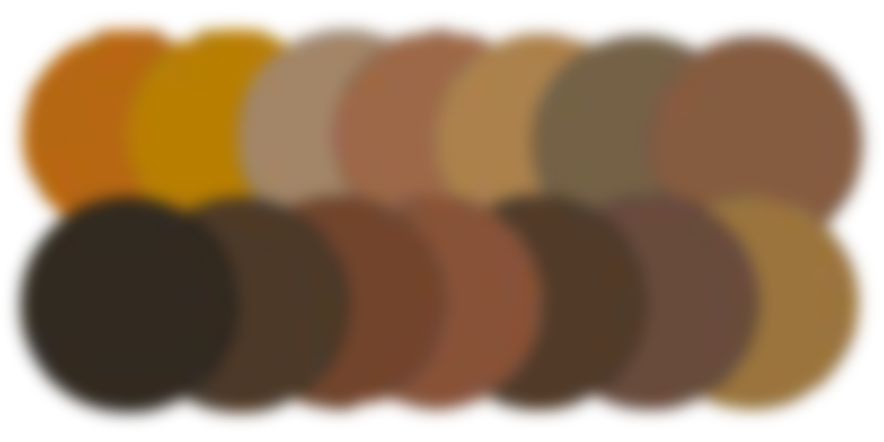 Microblading Pigment Colors