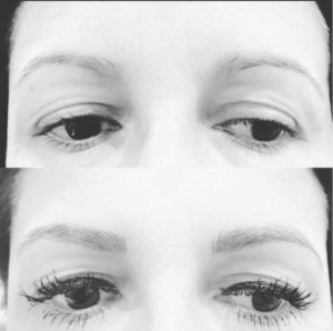 better eyebrow shape with microblading