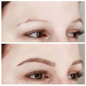 microblading sparse eyebrows